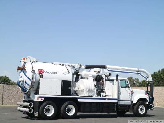 1998 International Vac-Con 9 Yard / 1,000 Gallon Combo Sewer Truck