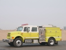 2000 International 4900 West-Mark CAFS Fire Pumper