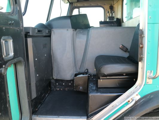2000 Peterbilt Amrep Side Load Garbage Truck