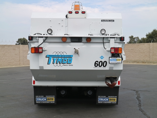 2002 Freightliner Tymco 600 CNG Air Street Sweeper
