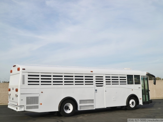 2003 Thomas Built Saf-T-Liner Prison Transport Bus