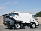 2003 GMC W5500 Schwarze A4000 Air Street Sweeper