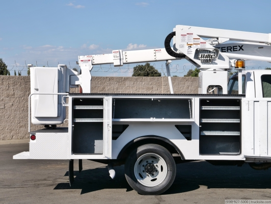 2003 Ford F450 Terex TL38P Articulated Bucket Truck