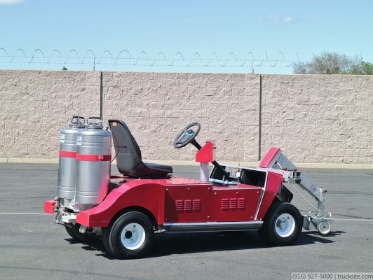 2005 Club Car Pioneer Brite Paint Striper