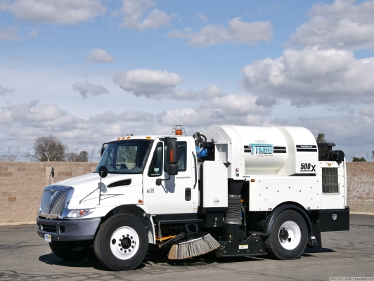 2007 International Tymco 500X Regenerative Air Street Sweeper