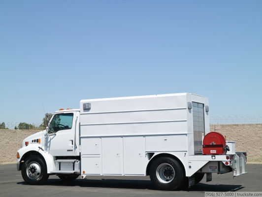 2008 Sterling Acterra Lube Truck