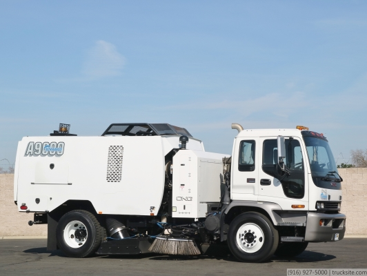 2009 GMC Schwarze A9000 CNG Air Street Sweeper