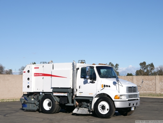2009 Sterling Acterra Elgin Broom Bear CNG Street Sweeper