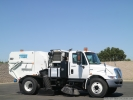 2010 International Tymco 600 Stainless Steel Air Street Sweeper