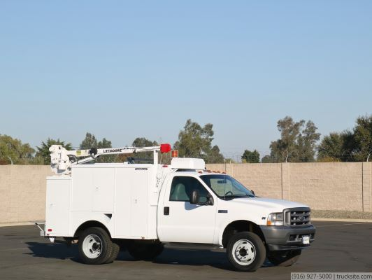 2004 Ford F450 Liftmoore Crane Service Truck for Sale
