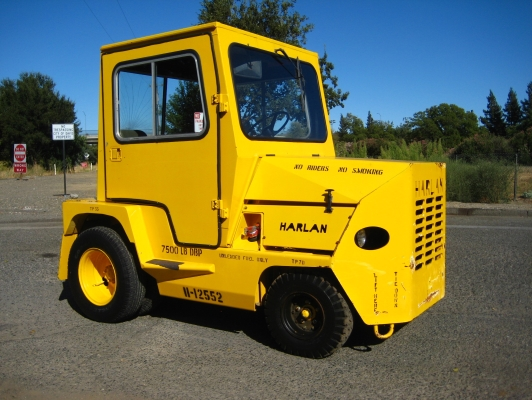 Harlan Tractor Parts : Harlan ghtag cargo master tug for sale trucksite