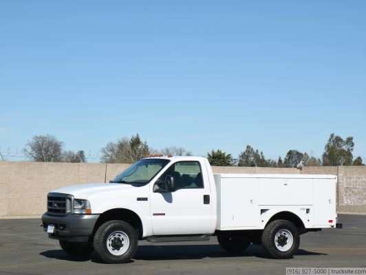 2003 Ford F350 SD 4x4 Utility Truck