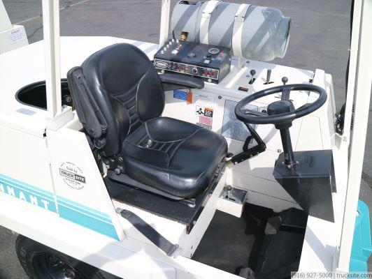 2012 Tennant 550 SRS Large-Area Industrial Rider Scrubber