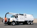 2003 Sterling Safe Jet Vac PD Vacuum / Jetter Truck