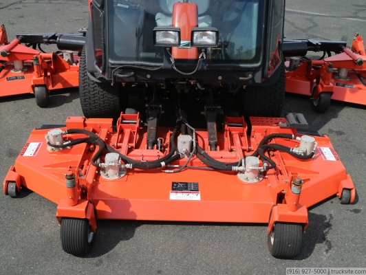 Jacobsen HR9016 Enclosed Cab 4WD Riding Lawn Mower