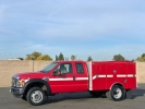 2008 Ford F550 4x4 Extended Cab Rescue Fire Truck