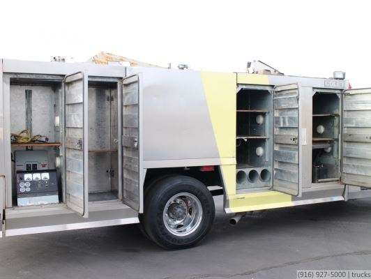 1988 Ford F800 Colet Fire Lighting Truck