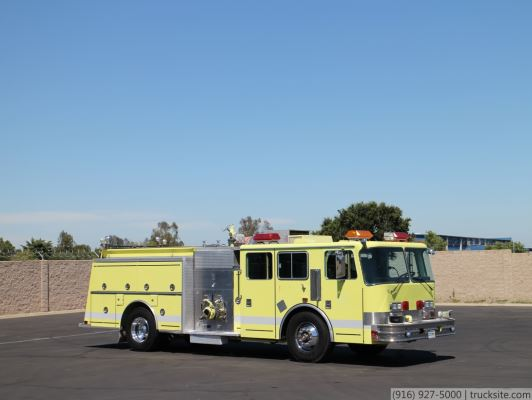 1991 KME 1500/500/30 Fire Pumper
