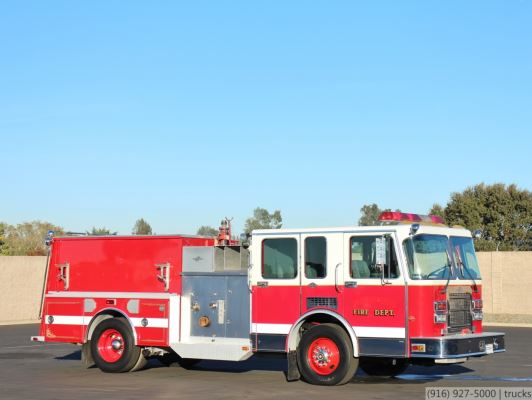 1992 Spartan Gladiator Hi-Tech 1500/500/20 Fire Pumper