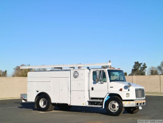 2002 Freightliner FL70 CNG Utility Truck