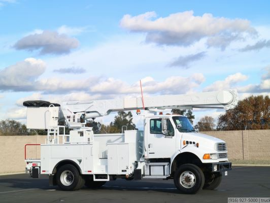 2007 Sterling Acterra 4x4 Altec AM55 60' Bucket Truck