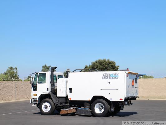 2006 Sterling Schwarze A9000 CNG Air Street Sweeper