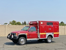 1993 GMC 3500HD 4x4 Braun Northwest Rescue Fire Truck
