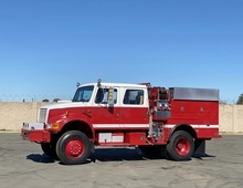 1995 International 4800 4x4 500/500/20 Type 3 Fire Pumper