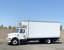 1998 International 4700 18' Reefer Box Truck