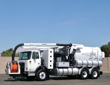 2007 Autocar Vactor 2110 PD CNG Sewer Truck