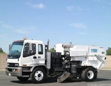 2008 Chevrolet Tymco 600 Vacuum Air Street Sweeper