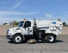 2009 International Tymco 600 BAH Street Sweeper