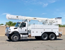 2012 International Altec AM55 60' Dual Basket Bucket Truck