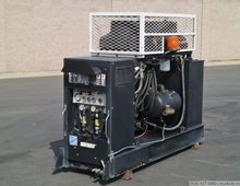 PowerAll 165 CFM Skid Mounted Air Compressor / Generator