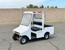 Taylor Dunn R380 Electric Flatbed Personnel Carrier Cart